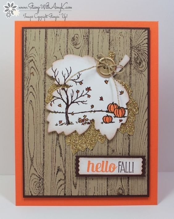 I used the Stampin' Up!Happy Scenesstamp set to create my card for The Paper Players Clean and Simplechallenge this week. I've seen several like this on Pinterest, I think that Leena Girsa made...