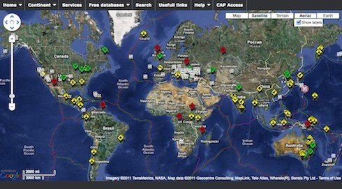 World Disaster and Emergency Alert Map, The Mayan Calendar and ...