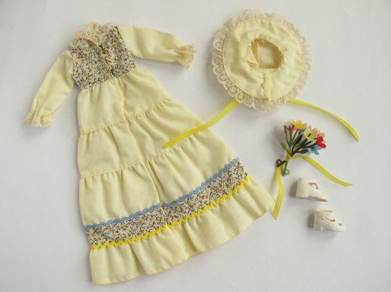 Sindy Fleur SPRING COMPLETE OUTFIT #1030   No Doll   Vintage Pedigree Otto Simon   eBay