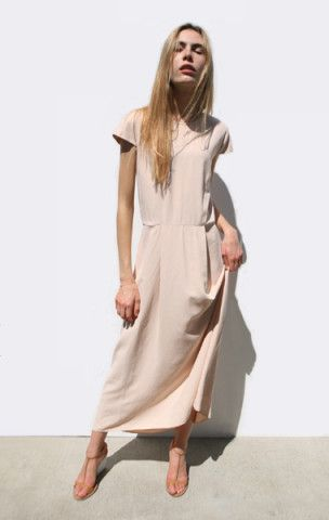 Jesse Kamm Capsleeve Dress #fallfashion