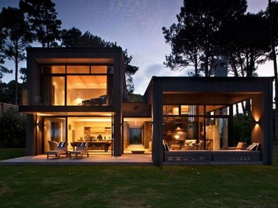 Bathroomware Designed For New Zealand Homes: Relaxing Home In New Zealand By Sumich Chaplin Architects