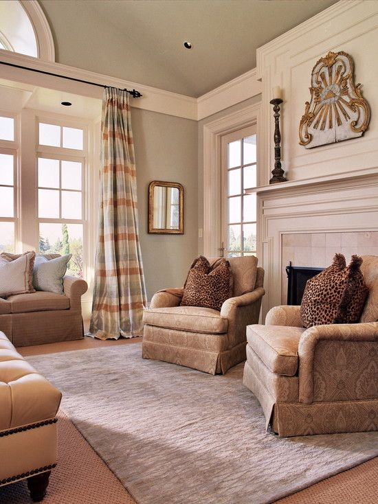 Trim design for sunroom to seperate tall ceiling and use for How to paint a cathedral ceiling room