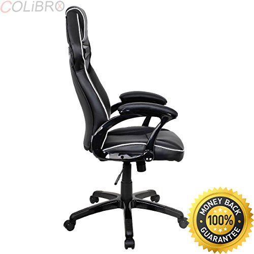 Colibrox Racing Bucket Seat Office Chair High Back Gaming Chair