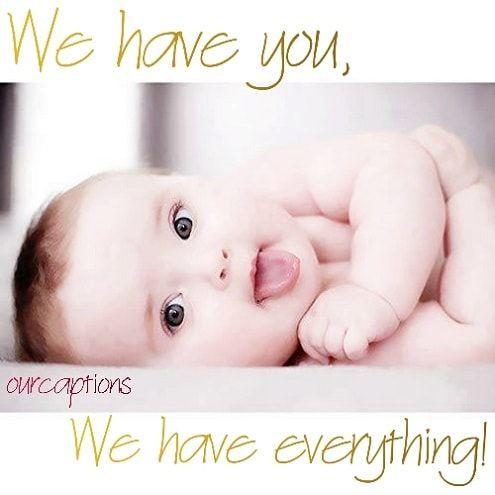100 Cute New Born Baby Boys Girls Instagram Captions Newborn Baby Quotes Instagram Baby Baby Captions