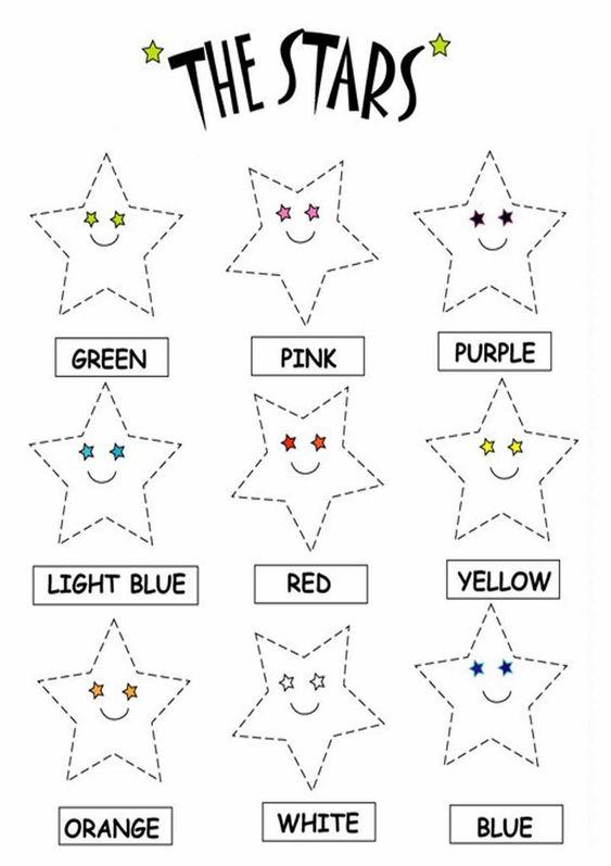 Number Names Worksheets » Star Worksheets - Free Printable ...