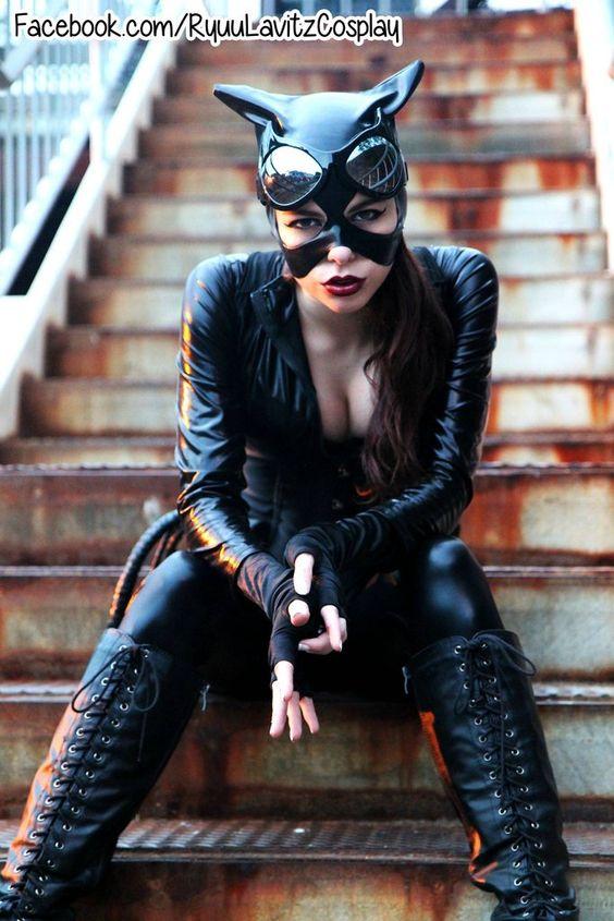 Ryuu Lavitz as Catwoman