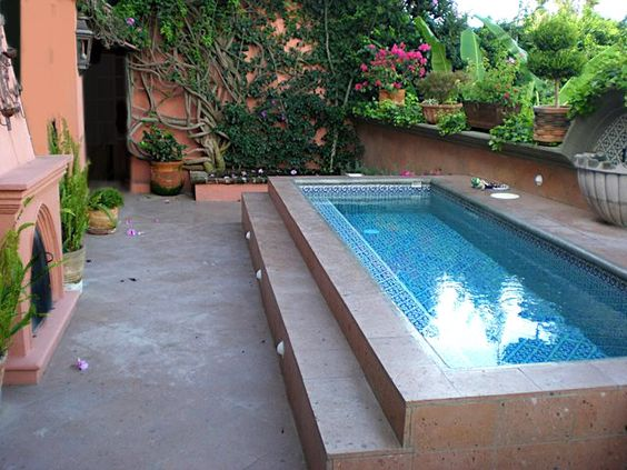 Small pool for a small backyard
