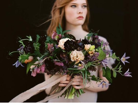 Moody Bridal Inspirations