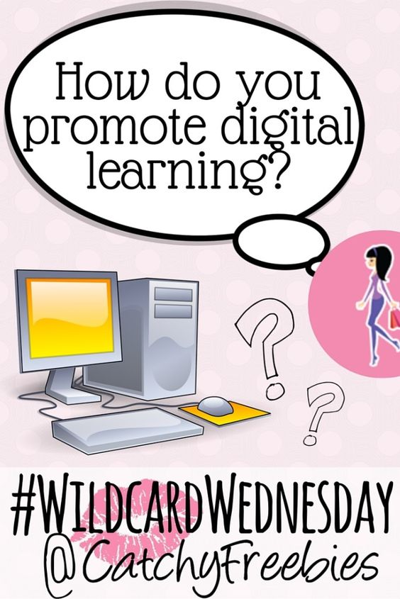 It's #DigitalLearningDay! Wanna win a sample? Let us know how you promote digital learning in your life or household! Click for more info!  #WildcardWednesday #Giveaway