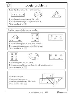 math logic problems worksheets 1000 images about puzzles on pinterest logic thinking word. Black Bedroom Furniture Sets. Home Design Ideas