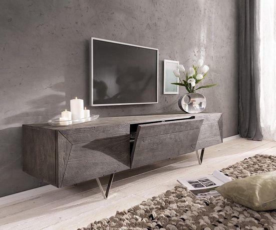Delife Tv Board Wyatt Sheesham Natur 175 Cm 1 Klappe 2 Turen Designer Lowboard Online Kaufen Otto In 2020 Wohnzimmermobel Modern Mobeldesign Moderne Schlafzimmermobel