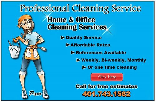 house cleaning flyers free