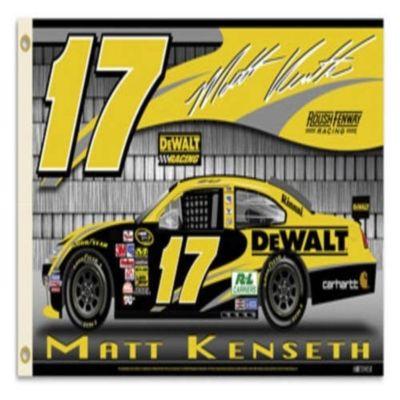 Matt Kenseth #17 Flag - 3' x 5' - Flags & Flag Pole Accessories $26.27
