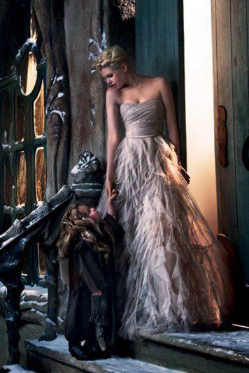 La robe de princesse de Naf Naf... ça fait rêver... 199€