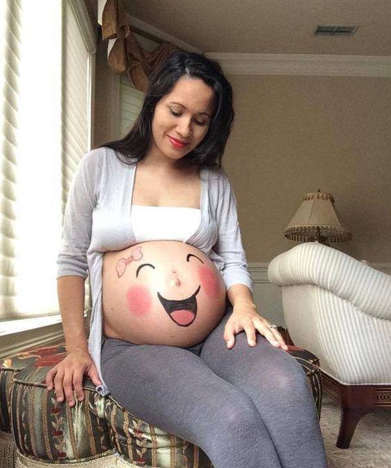 IMAGES POUR BLOGS ET FACEBOOK: Femme enceinte humoristique
