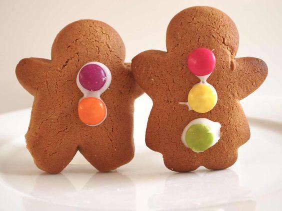 Gingerbread man & lady