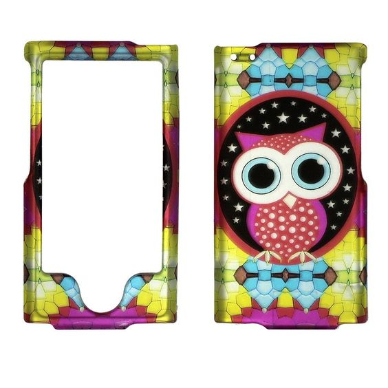 2D Colorful Owl Dg Apple iPod Nano 7 7th Generation Case Cover Protector