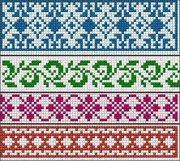 Схемы для станочного тканья | biser.info - всё о бисере и бисерном ...