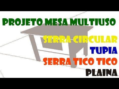 Como Fazer Uma Bancada Multifuncional Caseira Part 1 Youtube