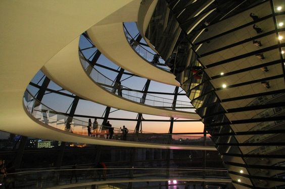 Abends im Bundestag von JoEos