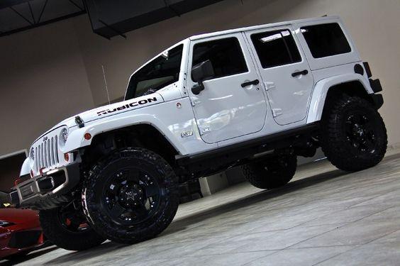 Jeep Wrangler Unlimited Rubicon White