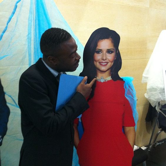 Tyrell with his girl Cheryl