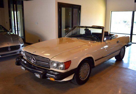 Convertible 1987 Mercedes Benz 560 Sl With 2 Door In Scottsdale Az 85260 Mercedes Benz Benz Mercedes