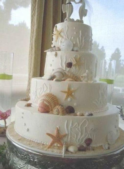 16 Ideas Wedding Beach Theme Rocks Nautical Wedding Cakes