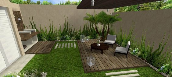 Decoraci n de jardines peque os jardin pinterest - Decoracion para patios ...