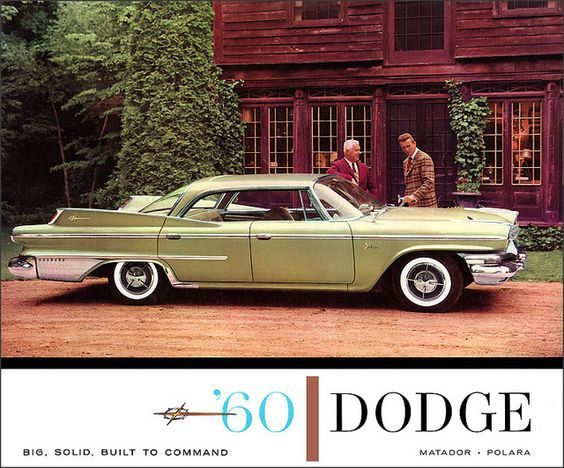 DODGE for 1960!