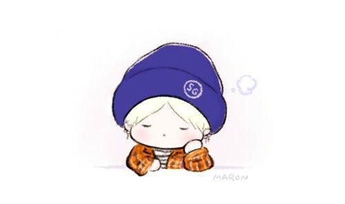 Yoongi Fanart Chibi Bts Dibujo Dibujos Adorables