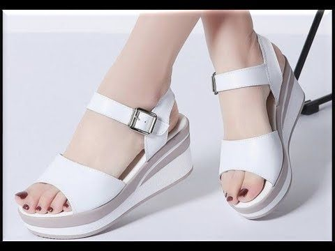 WHITE SANDALS 2020 || Genuine Leather