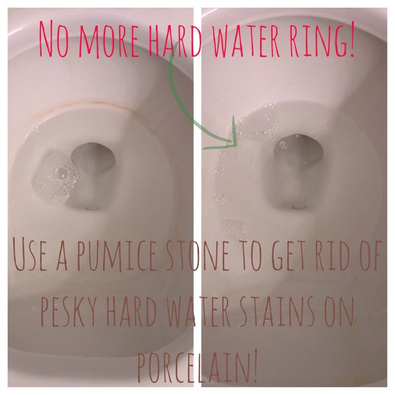 When Vinegar Fails How To Get Rid Of Hard Water Toilet