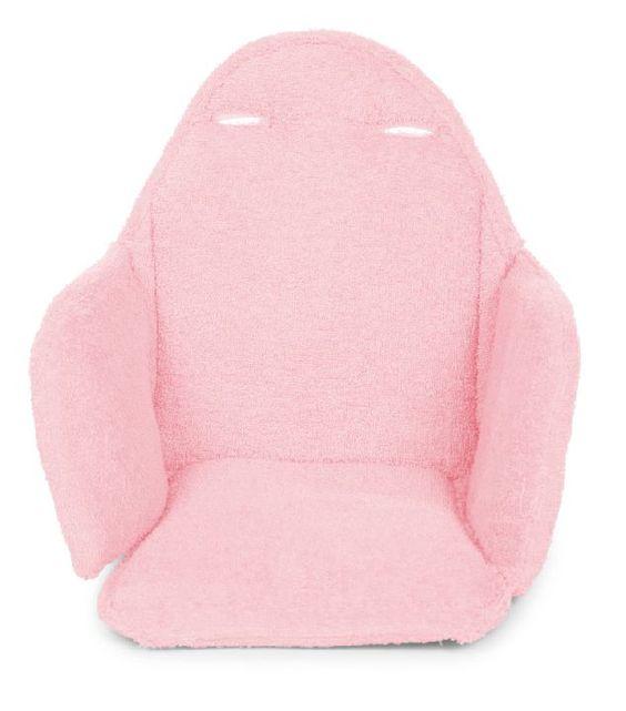 Stoelkussen<BR>:  Stoelkussen op maat voor de EVOLU stoel.In een aangename en wasbare stof.Verkrijgbaar in de kleuren munt blauw, muis grijs, oud rozeAFMETINGEN: 31 x 25 x 23 cm