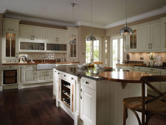 Alacenas para cocinas peque as cocinas ordenadas casas - Alacenas de cocinas ...