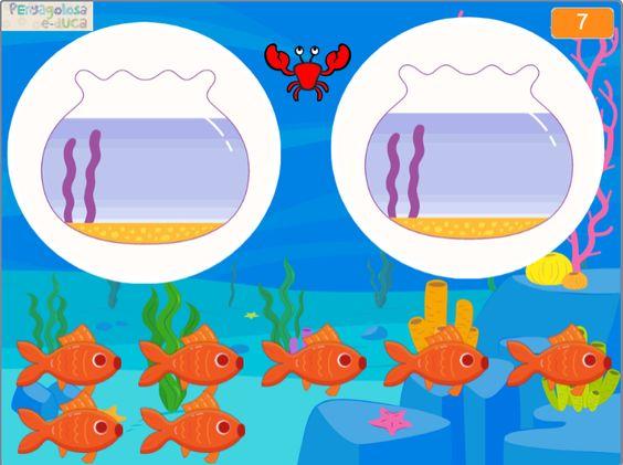 Reparto uniforme de peces (impares 3-9)