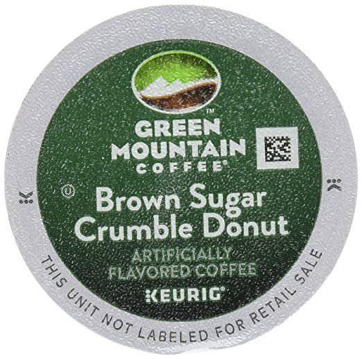 Green Mountain Coffee Keurig K Cups Brown Sugar Crumble Donut 3 7 Ounce 12 Ct Greenmountain Green Mountain Coffee Green Mountain Caramel Coffee