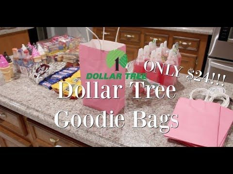 Dollar Tree Goodie Bags Cheap For Any Occasion Diy Party Bags Dollar Tree Gift Bags Diy Dollar Tree Gifts