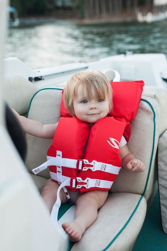 boating with baby