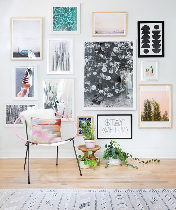 Urban Outfitters - Blog - UO DIY: Gallery Wall: