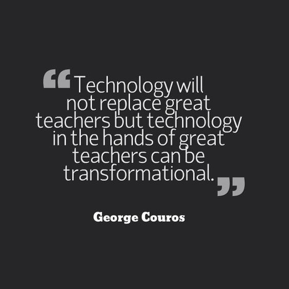 technology will not replace great teachers but technology