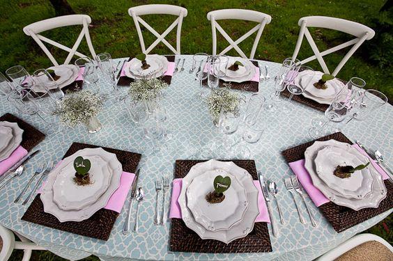 Outdoor Wedding Shower Decorations