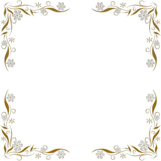 Marcos y bordes para invitaciones de 800 800 for Marcos de fotos dorados