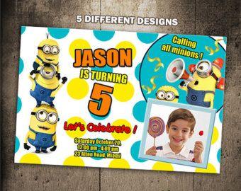 Esbirros cumpleaños invitación partido invitan a por taniacora89