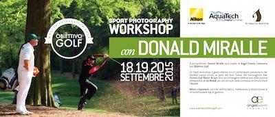 Pescara, a settembre workshop di fotografia sportiva
