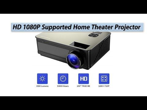 Home Theater Projector Poner Saund M5 3500 Lumens Full Hd1080psupported Home Theater Projectors Projector Theater Projector