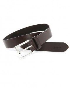 Ceinture en cuir marron Gant #gant #ceinture #cuir
