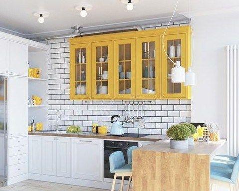 Sunny Yellow Kitchen Decorating Ideas Yellow Kitchen Furniture Yellow Kitchen Accents Yellow Kitchen Decor