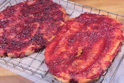 Ham Steaks - Use Apricot Glaze instead