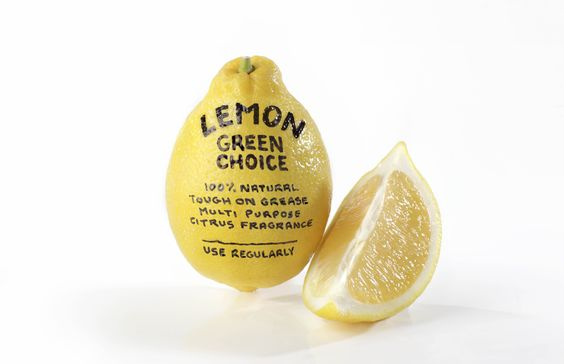 Lemon is great on fish & chips, but did you know it also packs a punch on grease? Get loads more green tips @greenvillages #naturalcleaning #yellow #greenliving #greensydney #lemon #greentips
